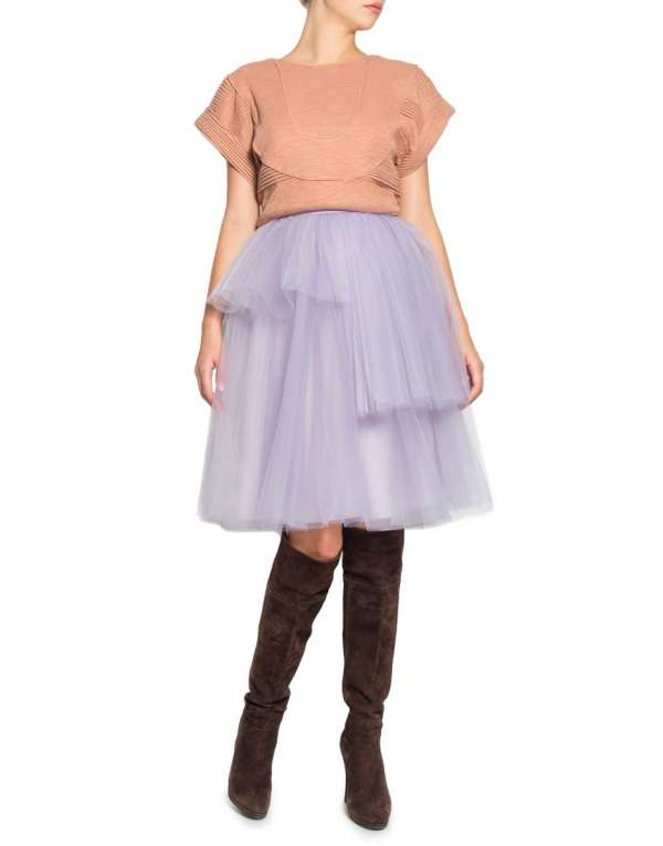 Tulle lila dress