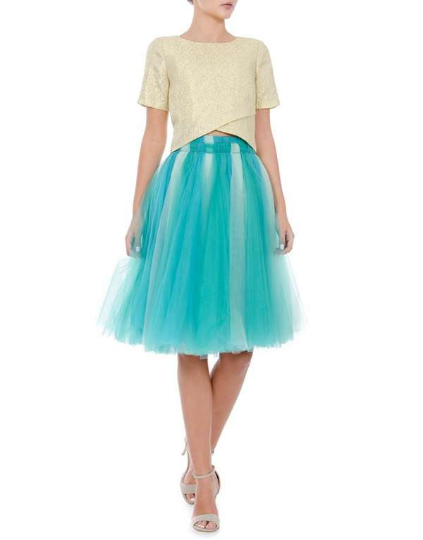Tulle skirt trio